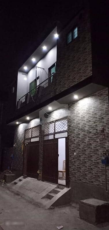 3 Marla Brand New Double Storey House Is Available In Nishat Colony Lahore Cantt