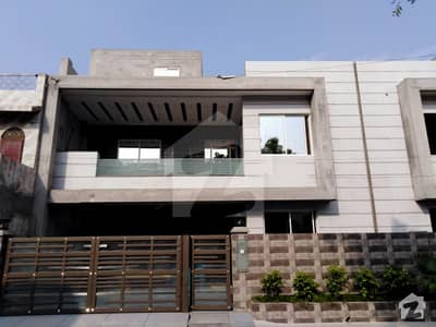 10 Marla Brand New House For Sale In Hunza Block Of Allama Iqbal Town Lahore