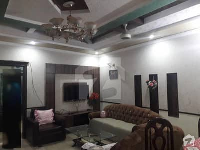 8 Marla Marbled flooring double story house Gated Area