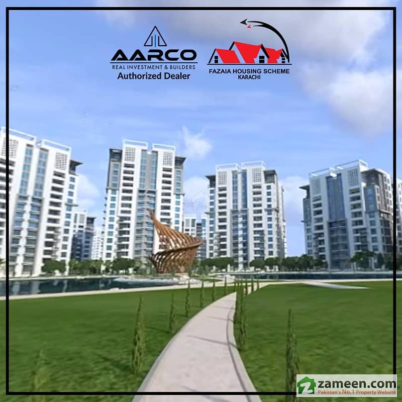 Flat File For Sale In Fazaia Housing Scheme Karachi Is A Project Of Pakistan Air Force PAF