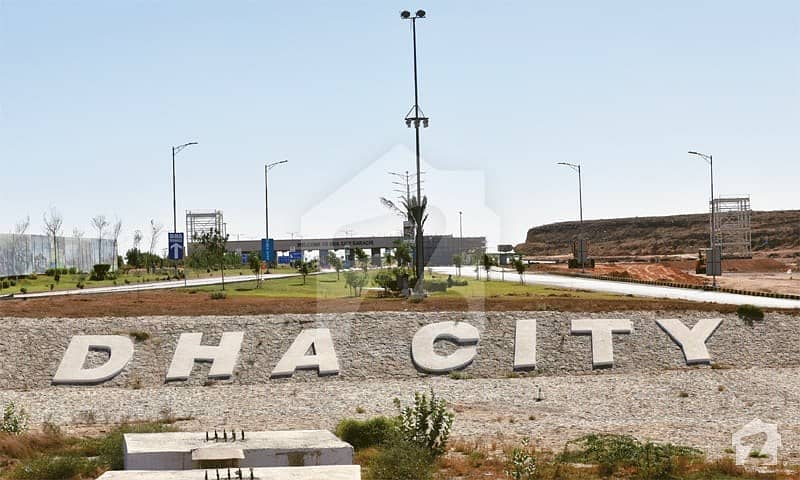 Clear Plot For Sale In Dha City Karachi