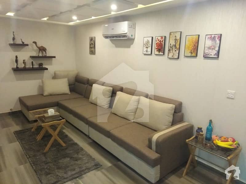 Furnished Single Bed Flat Available For Rent In Sector D