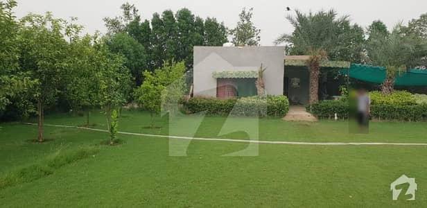 برکی روڈ کینٹ لاہور میں 3 کنال فارم ہاؤس 2.2 کروڑ میں برائے فروخت۔