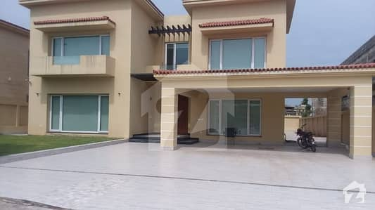 Bahria town phase 7 kanal luxurious house dream location outstanding view 5beds with attach bath on investor rate