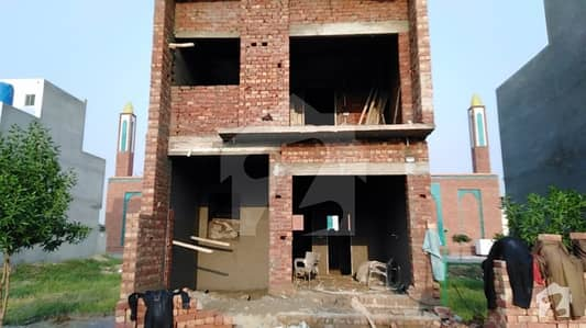 3 Marla Grey Structure New House For Sale In A Block Of Al Kabir Town Phase 2 Lahore