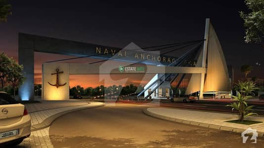 Naval Anchorage 500 Square Yards Plot File For Sale  Full Paid