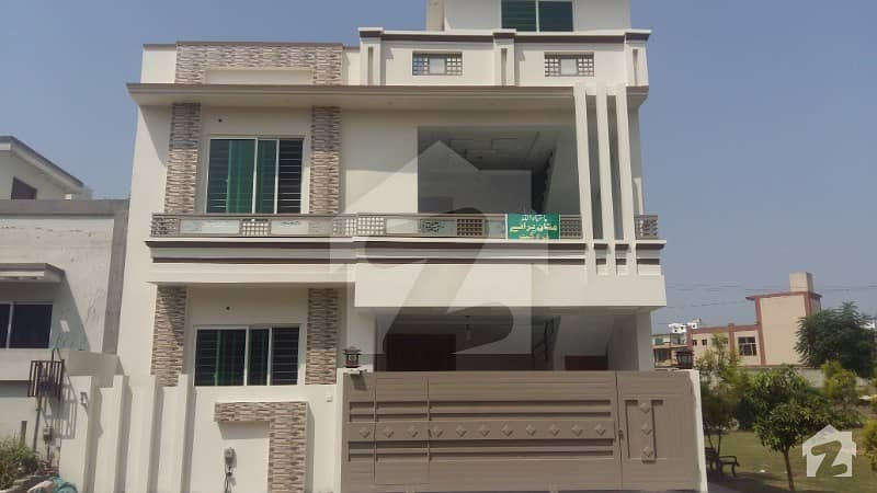 Double Storey Corner House For Sale In CBR Town Phase 1 Islamabad