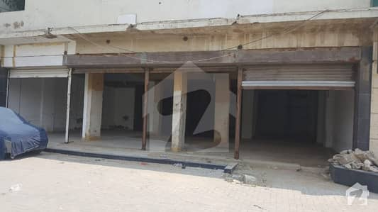 2306 Sq Feet Shops With 4 Shutters Big Front For Banks Restaurant Food Chains  Multi National Companies