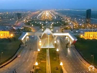 8 Marla Commercial Plot Sun Face On Main Boulevard Sector H Civic Zone For Sale In Bahria Enclave Islamabad