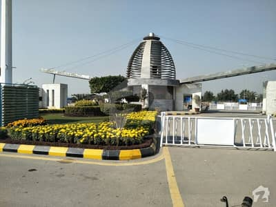 Top Location Facing Park Commercial Plot For Sale In A Block Bahria Education And Medical City Lahore