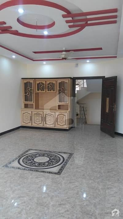 10 Marla House Ground Portion Available for Rent . In PWD on Islamabad Express way