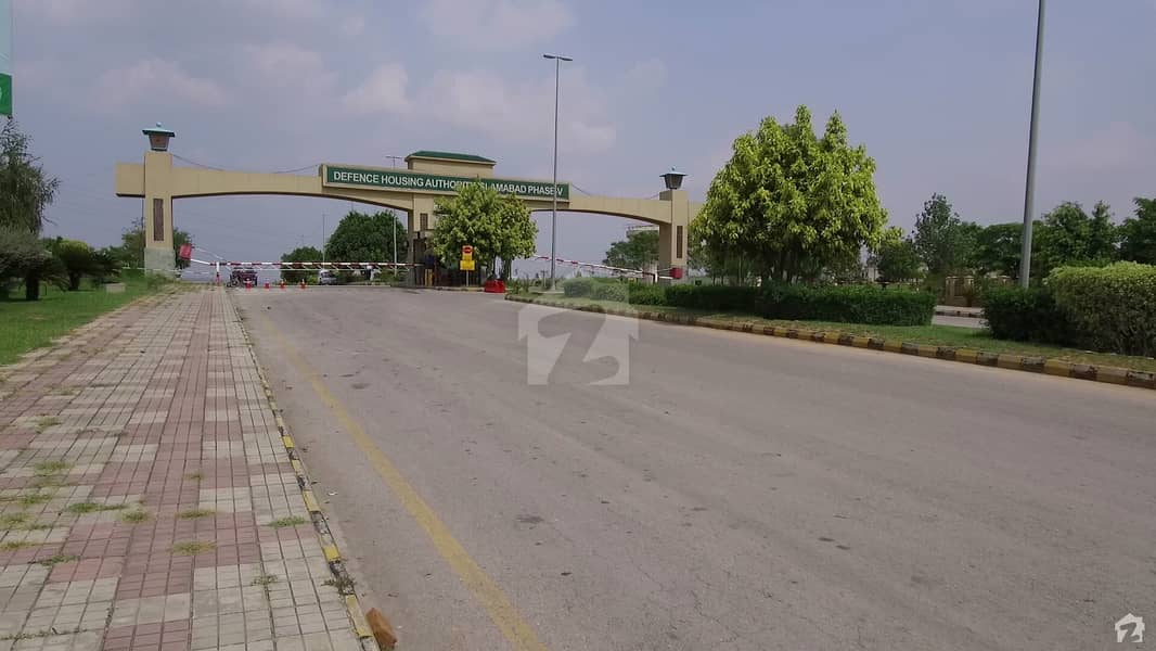 1 Kanal Plot Out Standing Location Available For Sale Dha Phase 5 Islamabad