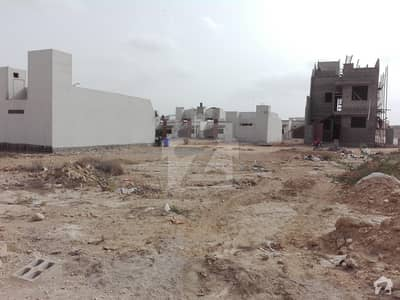 Saima Arabian Villas 120 Sq Yd Plot For Sale 1st Row East Open Nearest Main Road Next To First Row Block D