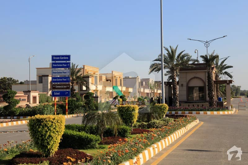 Dream Gardens Lahore Phase 1 Block B 35 Marla Brand New Excellent Constructed House For Sale