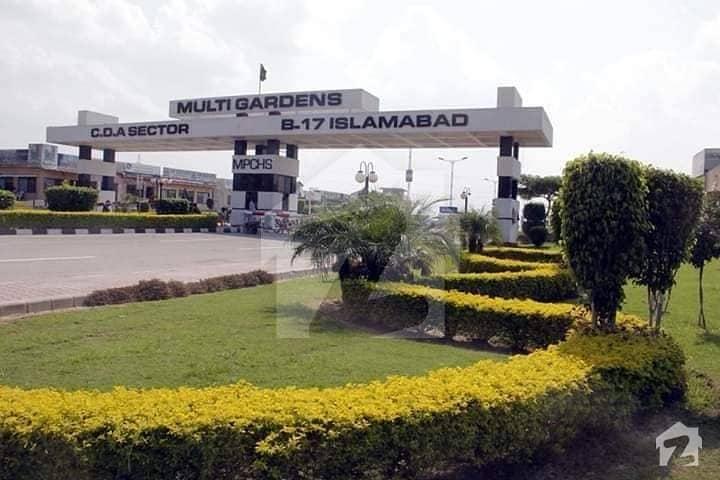 B-17 Multi Mpchs Garden Cda Sector Islamabad E Block 3070 Corner Plot For Sale Reasonable Price