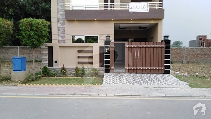 5 Marla Brand New Facing Park House For Sale In C Block Of Dream Gardens Phase 1 Lahore