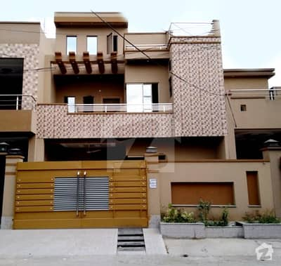 9 Marla Brand New House For Sale In E Block Of Military Accounts Society Lahore
