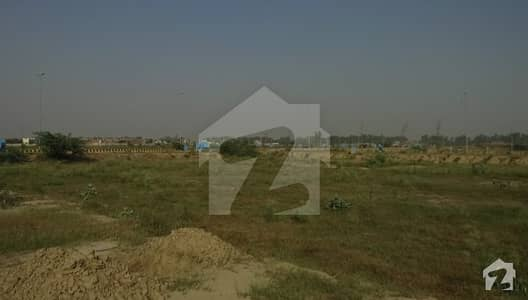 1 Kanal Corner Plot For Sale In Dha Phase 7 Lahore Block Y