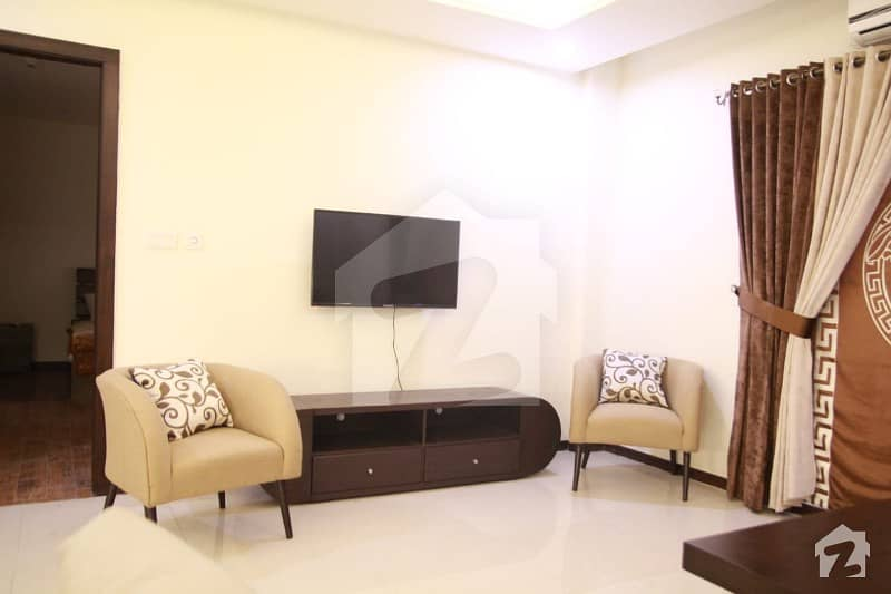 01 Bed Furnished Flat Is Available For Rent  In Bahria Heights