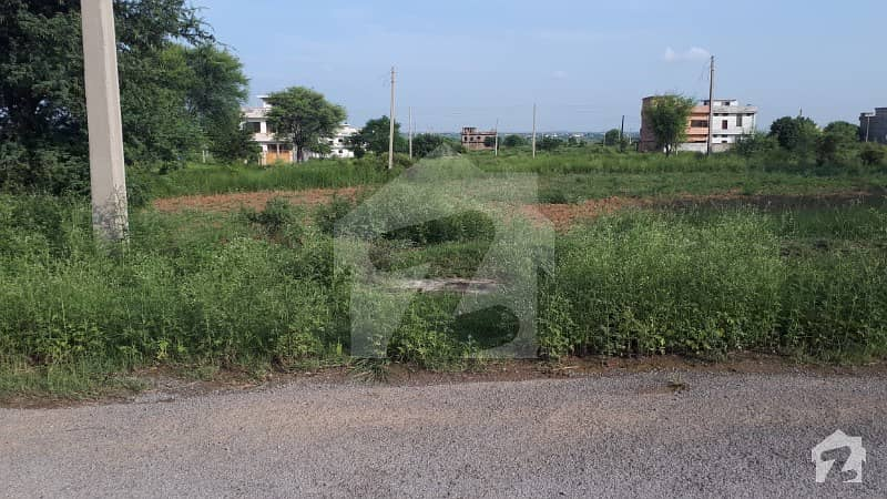 8 Marla Plot On Main Double Road For Sale