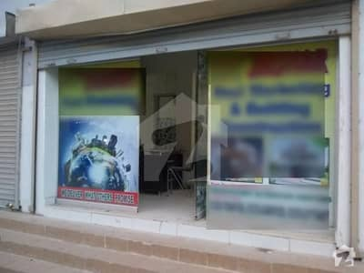 Bungalow Facing Shop Is Available For Sale In Palm Residency