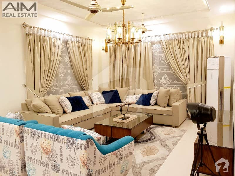 Furnished 1 Kanal Luxury House For Sale