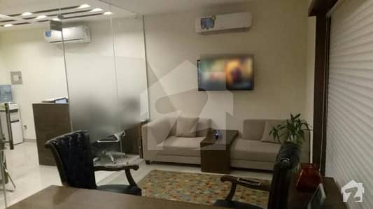 Fully Furnished Office 550 Sq Ft Bukhari Commercial Prime Location DHA 6