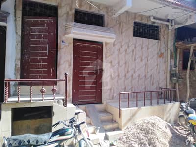500 Sq Feet Ground + 2 Floors House Available For Sale In Latifabad Unit 11