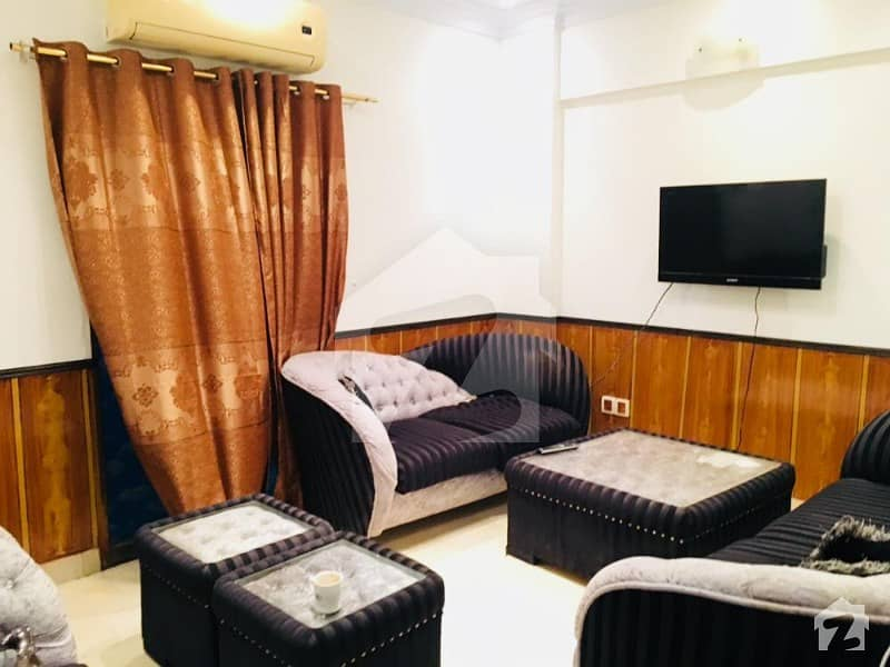 1000 Square Feet 1st Floor Brand New Apartment Fully Furnished Available For Rent In Dha Phase 6