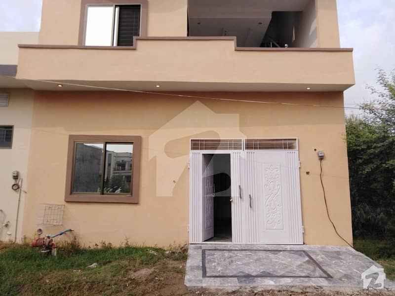 3 Marla Brand New House For Sale In Arsalan Block Of SA Gardens Phase 1