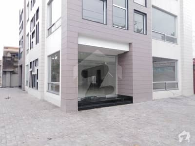Modern Style Building For Sale On Main Boulevard Of Allama Iqbal Town Lahore