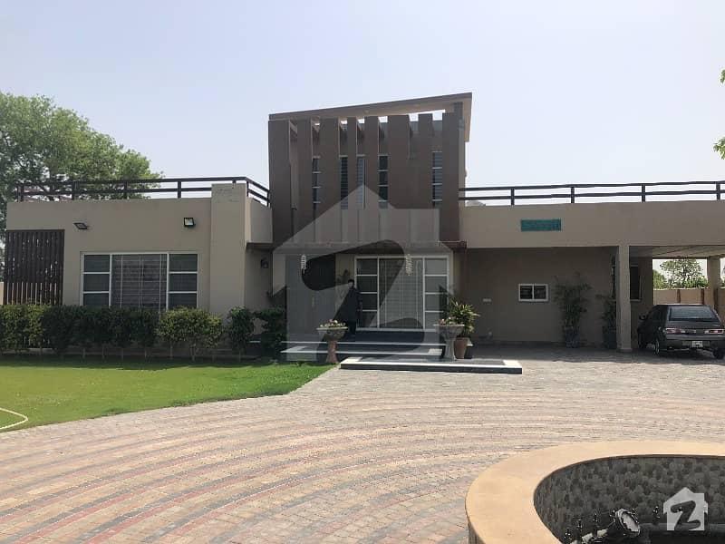 04 Kanal Fully Furnished  Farm House On Rent In Main Bedina Raod Lahore Lush 03 Bed Room Attach Cabin Bath Fully Furnishd Farm