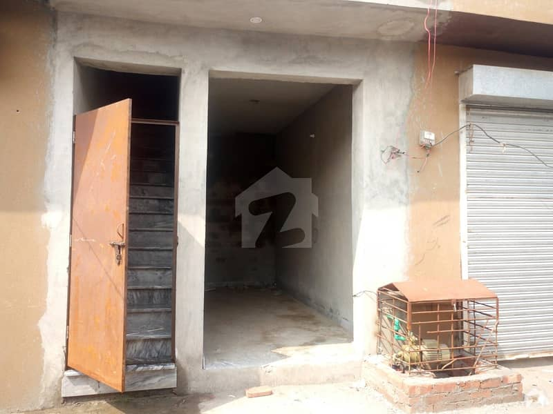 Flat With 2 Shops For Sale
