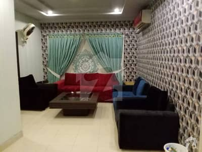 Corner  2 Bed Room Fully Furnished Apartment  In Bahria Town Available