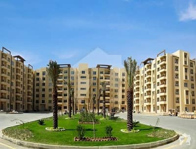 3 Bed Room Flat Corner West Open Available For Sale In Bahria Town Karachi
