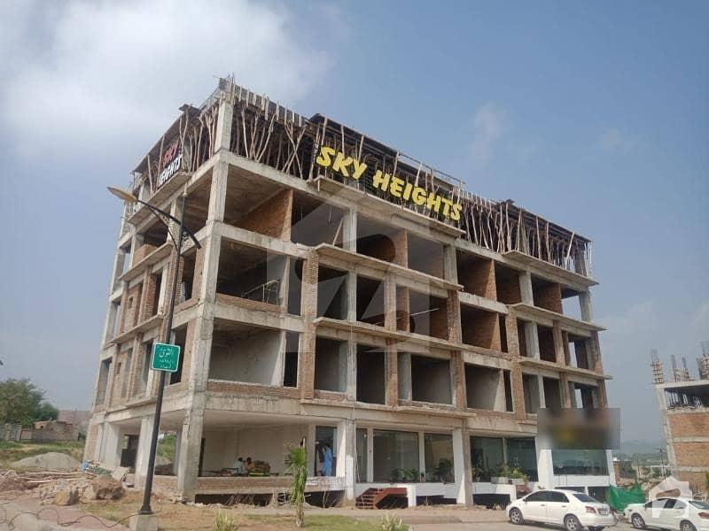 بحریہ انکلیو بحریہ ٹاؤن اسلام آباد میں 2 مرلہ دفتر 48 لاکھ میں برائے فروخت۔