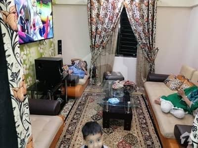 ناظم آباد - بلاک 1 ناظم آباد کراچی میں 2 کمروں کا 5 مرلہ فلیٹ 67 لاکھ میں برائے فروخت۔