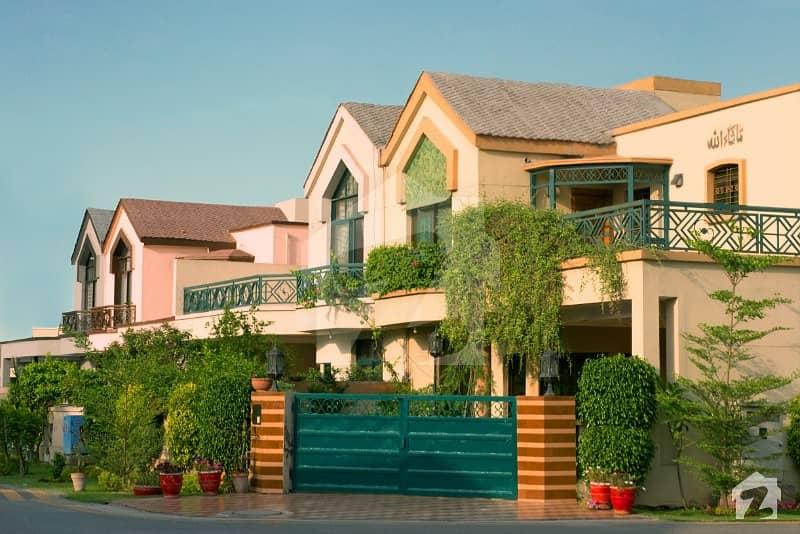 12 Marla Luxury House Facing Park House For Sale In Eden Palace Villas