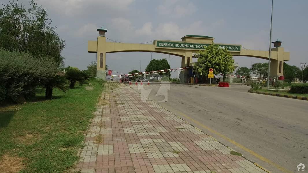 ڈی ایچ اے فیز 5 - سیکٹر اے ڈی ایچ اے ڈیفینس فیز 5 ڈی ایچ اے ڈیفینس اسلام آباد میں 10 مرلہ رہائشی پلاٹ 85 لاکھ میں برائے فروخت۔