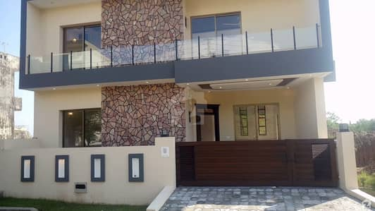 Corner Triple Storey 5 Marla Brand New House With Basement Is Available For Sale
