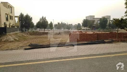10 Marla Plot For Sale In Johar Block Of Bahria Town Lahore