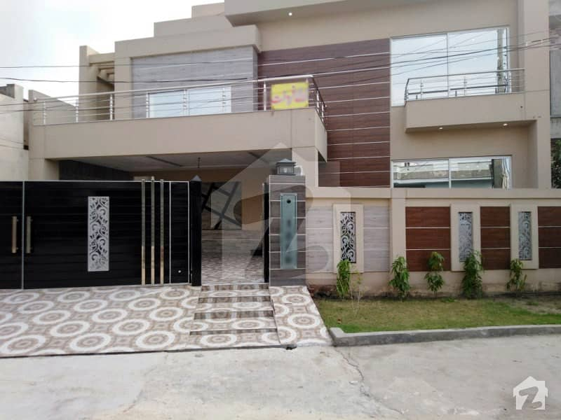 15 Marla Fully Luxury House For Sale In D Block Of Punjab Govt Employees Society Phase 2