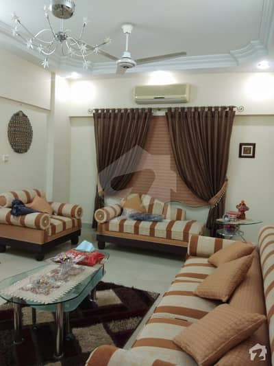 Luxurious 4 Bed Drawing Dining Flat Almost 2300 Sq Ft Net Covered Area For Sale