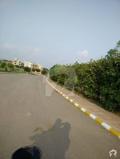 5 Marla Commercial Plot For Sale In Top City Islamabad