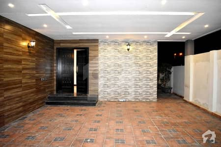 Central Location One Kanal New Luxury Bungalow Direct Approach From Main Boulevard Available For Rent