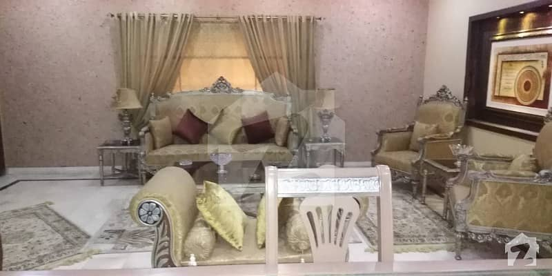 13 Marla Fully Furnished Corner Paid House For Sale Ideal And Well Constructed With Servant Quarter House In Overseas A