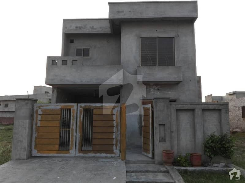 Prime Location Grey Structure House Available