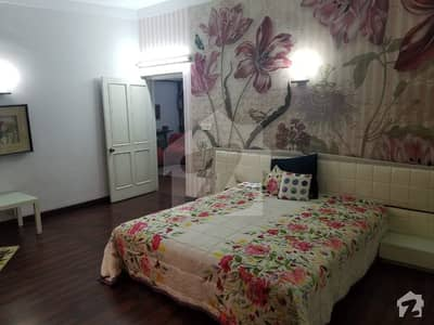 1 Kanal Fully Furnished 2 Bed Upper Portion In Gulberg Upper Mall Near Gym Khana