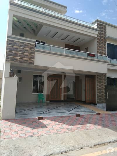 Brand New 12 Marla Double Storey Luxury Lush House For Sale In Cbr Town Islamabad