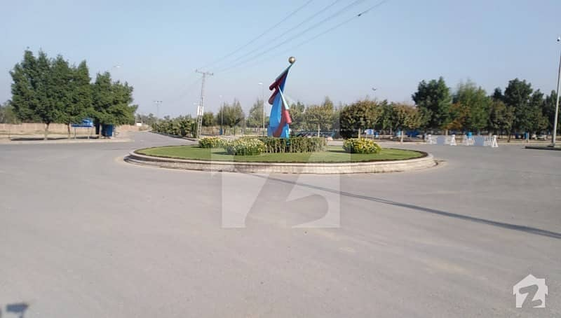 5 Marla Fully Developed Plot In G Block Bahria Orchard
